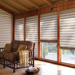 Hunter Douglas Vignette® Tiered™ Architella® Shades - Hunter Douglas Vignette® Tiered™ Architella® Shades