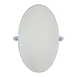 Minka Lavery - Minka Lavery 1432-77 Xl Oval Mirror - Beveled - Minka Lavery 1432-77 Xl Oval Mirror - Beveled