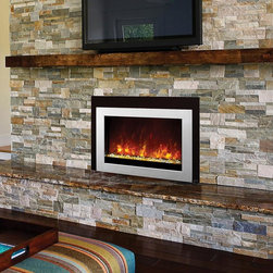 Fireplace Xtrordinair by Travis Industries - FPX 42EI Electric Insert - WATCH ME BURN! https://vimeo.com/72931243