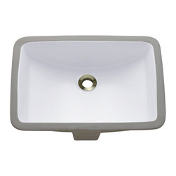 MR Direct - MR Direct u1913 Porcelain Bathroom sink, White, *No Drain* - Our extensive line of porcelain sinks will compliment any dcor from the traditional to the unique. Our porcelain sinks are true Vitreous China  with a triple laid glaze to create the strongest sink you will find. Our porcelain sinks are extremely low maintenance. Our porcelain sinks are covered by a limited lifetime warranty. Each comes with a cardboard cutout template and mounting hardware.