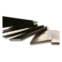 Sample - Metal Copper Stainless Steel 2x6 Tiles - sample-METAL COPPER STAINLESS STEEL 2x6  TILES SAMPLE  SAMPLE   Samples are intended for color comparison purposes, not installation purposes.-Glass Tiles -