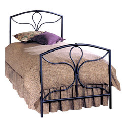 Hillsdale - Hillsdale Morgan Black Metal Panel Bed-Full - Hillsdale - Beds - 241BFR - Excellence without excess. Inspired by the wrought curves of traditional Victorian design the Morgan combines classic charm with modern sensibility. Featuring delightful decorative detail stylized castings and an arched silhouette this tranquil design would be the ideal addition to a child's room a guest room and even the master bedroom.