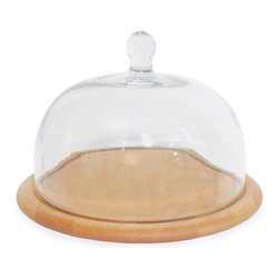 J.K. Adams - Artisan Cake Plate w/ Glass Dome - This platter takes the cake! Even better, it keeps treats fresh and moist beneath its accompanying dome. You'll wonder how you ever did dessert without it.