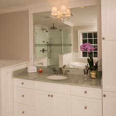 Traditional Bathroom by JWH Design and Cabinetry LLC