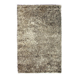 """Noble House - Palazo White/Gray Rug - This collection was developed with the combination of various textured polyester yarns, this is a very modern and trendy product line compatible for modern home d cor. The products look very simple but sophisticated and shiny to add the galore to the rooms interior. Features: -Technique: Woven.-Material: Polyester.-Origin: India.-Depending on amount of traffic on rugs, professional cleaning or washing is required every 1 to 2 years..-Rugs should be vacuumed on regular basis to remove dust and dirt which would restore life to the fibers. Do not vacuum the fringes. Do not Vacuum Shaggy rugs as it will damage the rug. To clean the Shaggy rug, flip it over and shake well by hand..-To avoid spills setting deep and becoming stubborn, it is recommended to act immediately. When spills occur on rugs, put some water in the affected area to dilute, blot with clean white cloth or paper towel. Remove the moisture as much as possible by blotting with absorbent cloth or thick paper towel. Do not rub spills as could result in setting spills deeper in the affected area..-Features:Construction: Handmade.-Recommended Care:Do not expose rugs in direct sun light for longer time as it could result in faded colors of rugs..-Collection: Palazo.-Distressed: No.-Collection: Palazo.-Construction: Handmade.-Technique: Woven.-Primary Color: White.-Type of Backing: Latex.-Material: Polyester.-Fringe: No.-Reversible: No.-Rug Pad Needed: No.-Water Repellent: No.-Mildew Resistant: No.-Stain Resistant: No.-Fade Resistant: No.-Eco-Friendly: No.-Recycled Content: No.-Outdoor Use: No.-Product Care: In case of liquid, blot clean with undyed cloth by pressing firmly around the spill to absorb as much as possible..Specifications: -CRI certified: No.-Goodweave certified: No.Dimensions: -Pile height: 0.08''.-Overall Dimensions: 72-132'' Height x 48-96'' Width x 0.08'' Depth.-Pile Height: 1.25"""".-Overall Product Weight (Rug Size: 4' x 6'): 30 lbs.-Overall Product Weight ("""