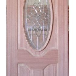 Mahogany Entry doors -