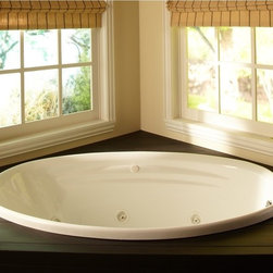 None - Clarke Products Concentra 1 Whirlpool Tub - The Concentra I cast acrylic tub with fiberglass reinforced backing for strength is a great whirlpool tub option for your bathroom space. With its pre-leveled base and textured,slip-resistant floor,it offers quality and safety at a great value.