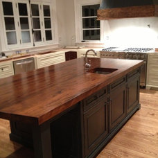 Kitchen Islands And Kitchen Carts by Bernard Rioux Cabinetmaker Inc.
