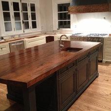 Kitchen Islands And Kitchen Carts by Bernard Rioux Cabinetmaker Inc.