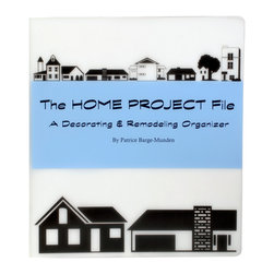 Innerspace Publishing - The Home Project File: A Decorating & Remodeling Organizer - The Home Project File will keep all of your creative ideas, samples and materials in one place! This durable decorating organizer will hold ALL your samples, swatches, paint chips, ideas and measurements.