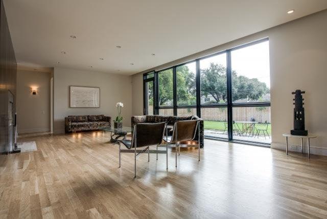 Modern Family Room by ICF Custom Homes