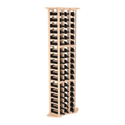 3-Column Wine Cellar Corner Kit in Pine