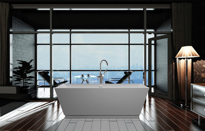 Contemporary Bathroom Vanities And Sink Consoles by Next Plumbing Supply