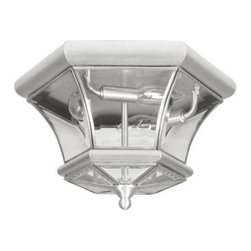 Livex Lighting - Livex Monterey/Georgetown Ceiling Mount Brushed Nickel -7053-91 - Livex products are highly detailed and meticulously finished by some of the best craftsmen in the business
