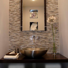 Contemporary Bathroom by Canadian Home Flooring