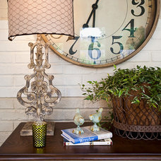 Eclectic Porch by Eric Ross Interiors, LLC