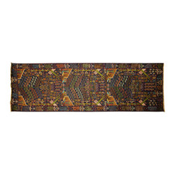 Manhattan Rugs - New Geometric Art Rug Balouch Veg Dyed Hand Knotted Wool Navy Blue Runner Free P - They have a very distinctive type of rugs recognizable at a glance. Anyone remotely familiar with oriental rugs could hardly mistake a typical example
