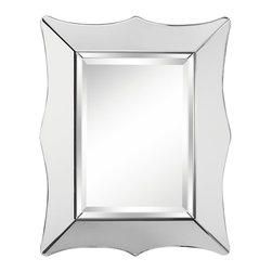 Kichler Lighting - Kichler Lighting 78215 Calista Transitional Rectangular Mirror - This versatile mirror accent will complement any space in your home. The Beveled Mirror frame forms a classic silhouette.