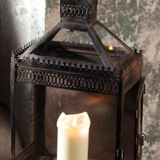 eclectic candles and candle holders by Mothology