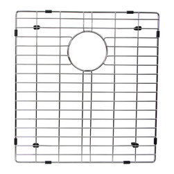 BOANN - BOANN Stainless Steel Grid for 60/40 SKR3322D2 Sink (Big Bowl) - The BOANN BNG4245B is the big bowl grid for BOANN's SKR3322D2 60/40 farmhouse sink. Made from Solid T202 stainless steel, the grid is 100% Lead free and will not oxidize or rust.