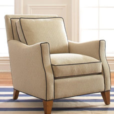 Contemporary Armchairs by Libby Langdon Interiors, Inc.