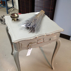 Eclectic Side Tables And End Tables by On the Purple Couch, LLC
