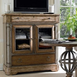 European Farmhouse Gathering Room Media Chest
