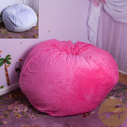 Christopher Knight Home - Christopher Knight Home Eloise Fabric Bean Bag - This bean bag is comfortable and durable filled with long-lasting polystyrene beans. This bean bag is perfect for any bedroom, home theater, family and game rooms.
