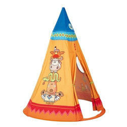 HABA - Tepee - Every day is an adventure with this Tepee Play Tent! It offers the nicest shelter in the whole village! It is perfect for all explorers who want to live exciting adventures and take a rest from time to time. The HABA Tepee won several awards including the Parent Best Toy of the Year 2013.