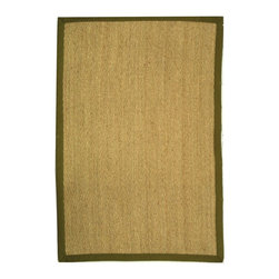 Safavieh - Contemporary Natural Fiber 4'x6' Rectangle Natural - Olive Area Rug - The Natural Fiber area rug Collection offers an affordable assortment of Contemporary stylings. Natural Fiber features a blend of natural Natural - Olive color. Machine Made of Sisal/Sea Grass the Natural Fiber Collection is an intriguing compliment to any decor.