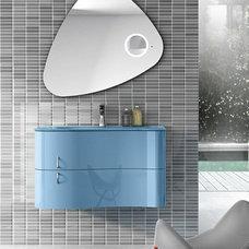 Modern Bathroom Sinks by European Cabinets & Design Studios