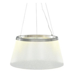 LBL Lighting - LBL Lighting Duke Grande Suspension LED 277V 1 Light Full Sized Pendant - Features: