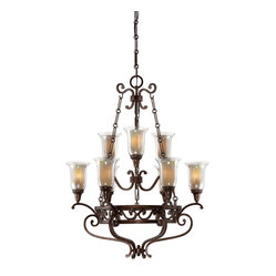 Astor 9 Light Chandelier