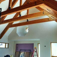 Traditional Living Room by Ballantyne Design Associates LLC
