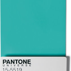 Pantone Wall Rack in Turquoise - I just had to throw this in. Who wouldn't like a Pantone wall shelf? It's a great way to store books and have an accurate color reference at the same time!
