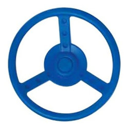 Kidwise Racing Wheel Playset Accessory - Blue - Quickly and easily change your child's play set into a racing car space ship or any type of vehicle with the Kidwise Racing Wheel Playset Accessory - Blue. Its fun bright blue color looks great with any play set and your kids will love taking their imaginations to new heights with this racing wheel.About Kidwise ProductsThis item is made by Kidwise Outdoors a company whose focus is safe fun excitement for kids. Kidwise strives to promote safe play for kids of all ages through outside activities. Their line of products includes swing sets trampolines inflatable bouncers bikes sport goals and many other items to choose from. Kidwise guarantees all of their products against defects. Like Hayneedle their goal is 100% satisfaction from customers. Their product lines focus on kid-friendly items that are fun to play with and stimulate balance and a healthy lifestyle for kids.