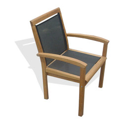 Haste Garden - Haste Garden Merlin Armchair - Robinia wood is resistant to decay. All of the wood used in our furniture is sourced from Europe and is 100% FSC certificated. - Made in Poland.  Assembly required.