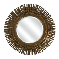 Wimberly Mirror - This mirror has become a recent favorite of mine, and yes, I love it for masculine spaces. The trick is to balance all of the other accessories so that the overall feel of the room is neither masculine nor feminine. In this case, I'd keep my printed textiles to a minimum and focus on texture and color. Trust me, you or your client will end up happy.