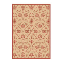 "Dynamic Rugs - Dynamic Piazza 2744-3701 Red 7'10"" Round Area Rugs - Dynamic Piazza 2744-3701 Red 7'10"" Round Area Rugs"