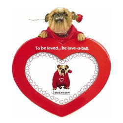 WL - 3.5 x 5 Inch Bright Red to Be Loved Be Love-a-bull Bobble Photo Frame - This gorgeous 3.5 x 5 Inch Bright Red to Be Loved Be Love-a-bull Bobble Photo Frame has the finest details and highest quality you will find anywhere! 3.5 x 5 Inch Bright Red to Be Loved Be Love-a-bull Bobble Photo Frame is truly remarkable.