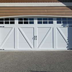 Recent Installations - Clopay Coachman Series - Fully Insulated Steel - Carriage House Garage Door