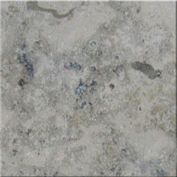 "Jura Grey Honed Limestone Marble Floor & Wall Tiles - 12"" x 12"" - 12"" x 12"" Jura Grey Limestone Honed Marble Floor & Wall Tile is a great way to enhance your decor with a traditional aesthetic touch. This honed tile is constructed from durable, impervious limestone marble material, comes in a smooth, unglazed finish and is suitable for installation on floors, walls and countertops in commercial and residential spaces such as bathrooms and kitchens."