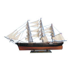 """Handcrafted Model Ships - Flying Fish Limited 50"""" - Wooden Tall Ship Model - Sold Fully Assembled"""