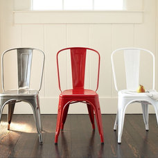 Industrial Dining Chairs by Pottery Barn