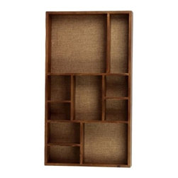 Urban Trends Tall Wooden Wall Display Shelf - 17.25W x 31H in. - About Urban Trends Collection:Urban Trends Collection is a leading home décor and decorative home accessories company. They specialize in the latest home furnishings, decorative home accessories, accent pieces, and garden accessories. Urban Trends is a global company that provides quality, reasonably priced home decor to their customers. They deal extensively in decorative home accessories items crafted in Spain, China, India, Turkey, and the Philippines. Urban Trends works with the best artisans and craftspeople as well as only quality manufacturers and reputable factories.