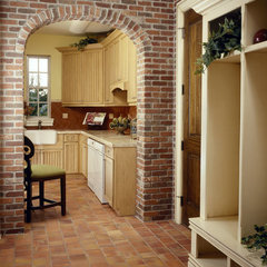 mediterranean kitchen by The Fechtel Company