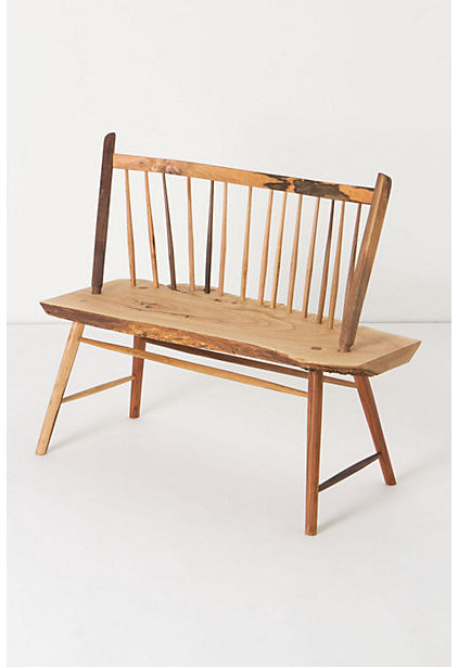 Rustic Outdoor Benches by Anthropologie