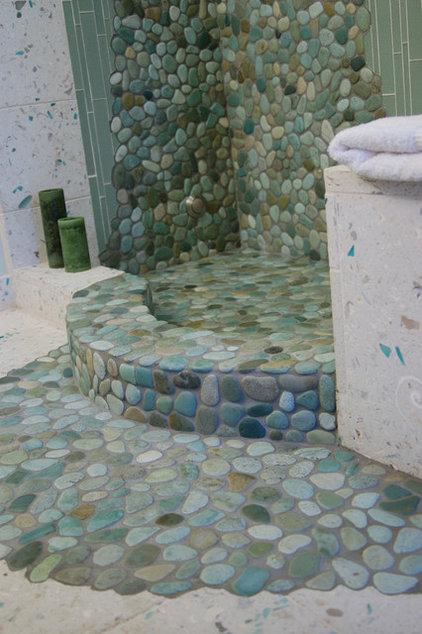 Modern Tile by Island Stone