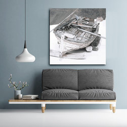 Photo Art on Canvas - Boat Series - http://www.marciarothfield.com - PHOTO ART ON CANVAS by Marcia Rothfield Photography