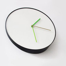 contemporary clocks by Generate Design